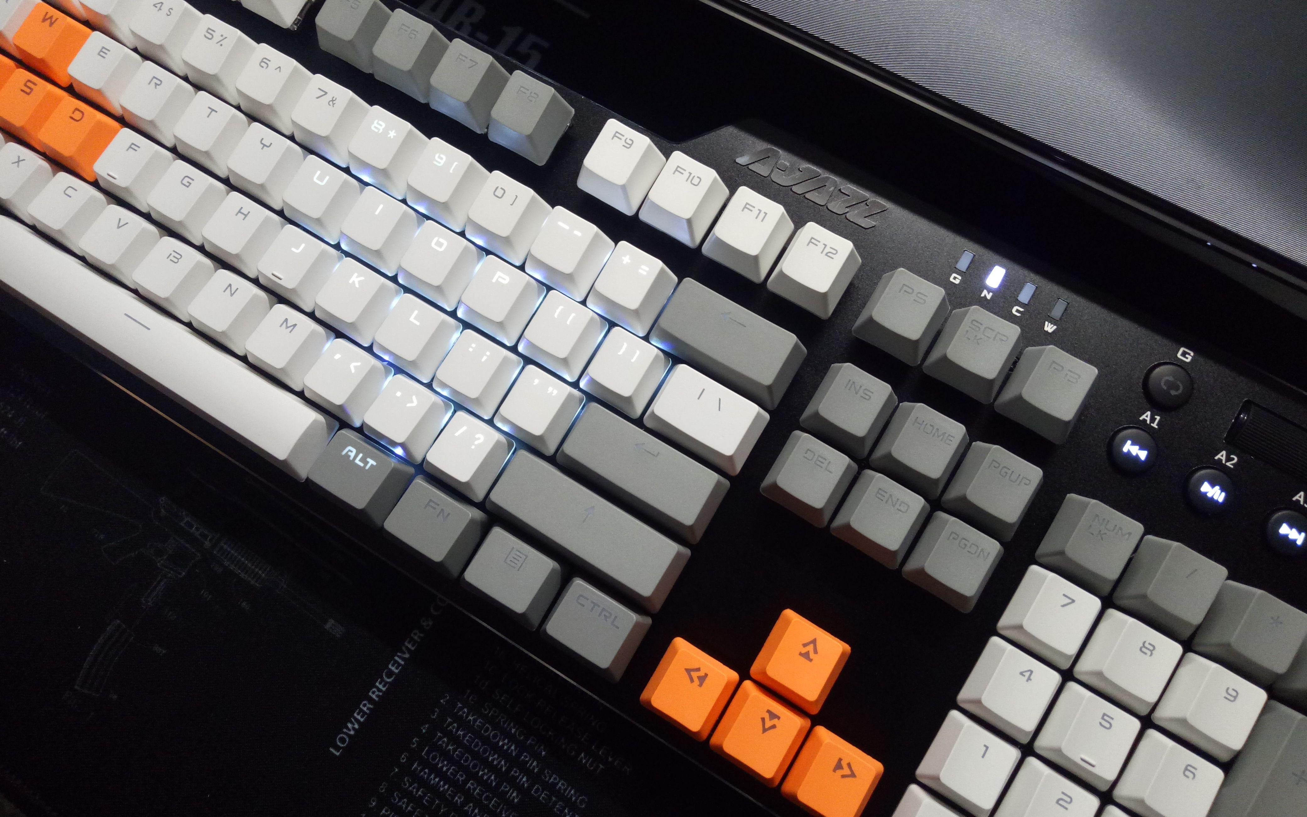 黑轴机械键盘声音_黑爵刺客Ⅱ(ak35i)开箱,第一次换机械键盘,纯个人体验分享 ...