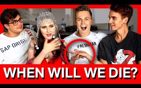 【生肉】【Caspar】WORLD'S BEST FORTUNE TELLER ft. Joe Sugg & Byron Langley