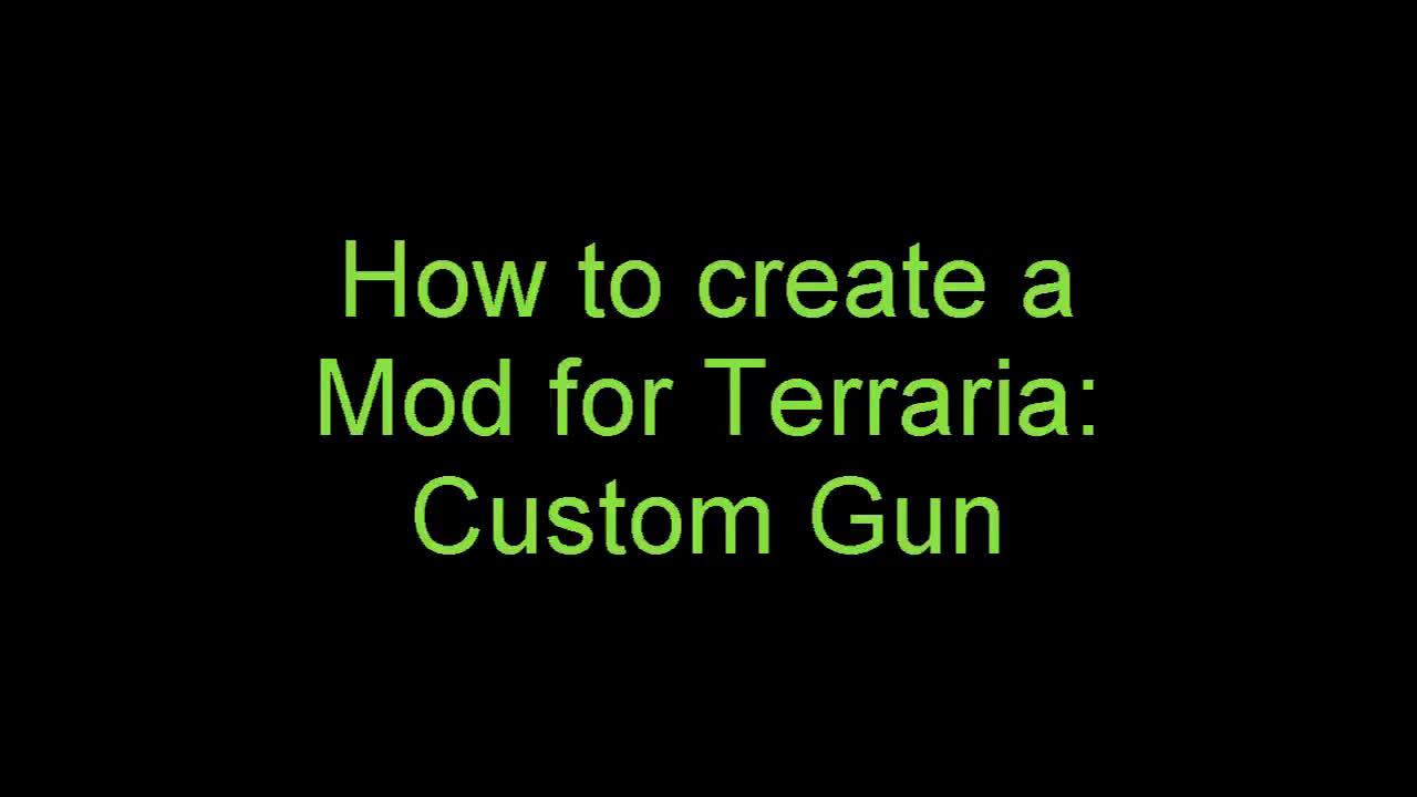Tutorial] Terraria Modding [tmodloader]_哔哩哔哩(゜-゜)つロ