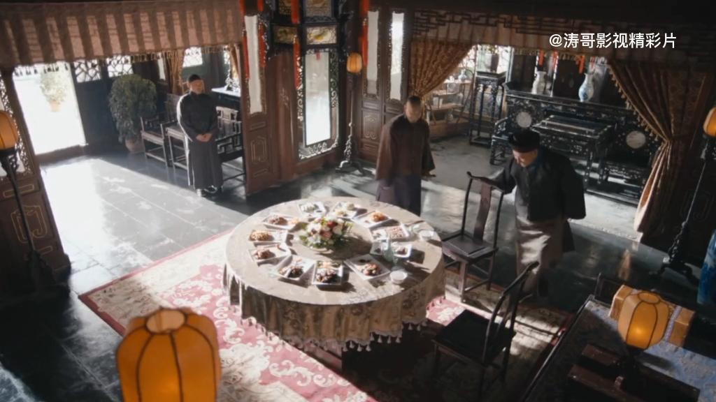 刘墉追案:临清州知州李大人请刘墉酒楼一聚,尽地主之宜