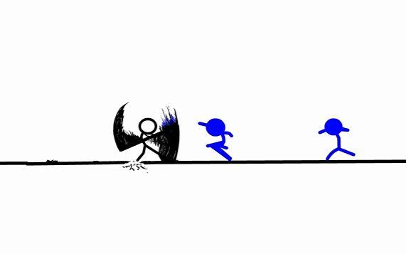 火柴人格斗画教程_超酷的Flash火柴人动画制作教程!_野生技术协会_科技_bilibili_哔哩 ...