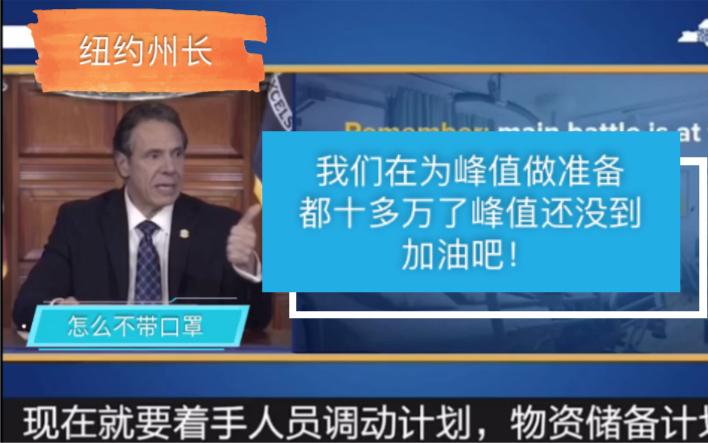纽约州长 「为峰值做准备  中国给你们那么多时间  早干嘛去了」