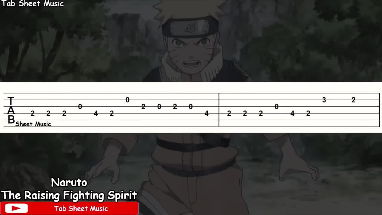 火影OST - The Raising Fighting Spirit /tab_哔哩哔哩 (゜-゜)つロ 干杯~-bilibili