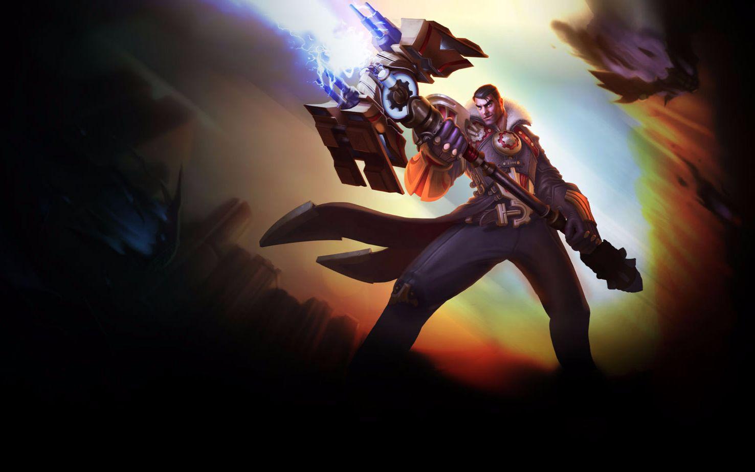 未来守护者杰斯视频_lol 英雄联盟专区 未来守护者杰斯  英雄视频 盒子出装 天赋加点 未来