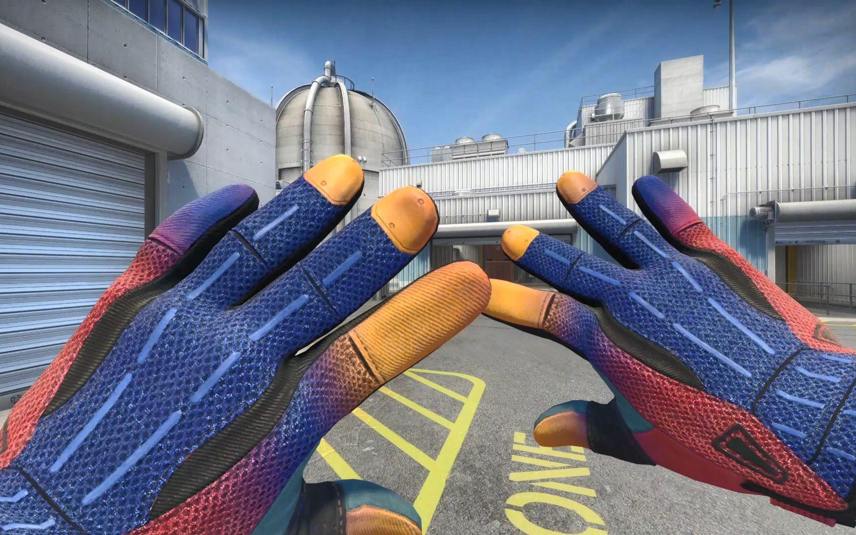 CSGO:游戏中未被采用的手套皮肤