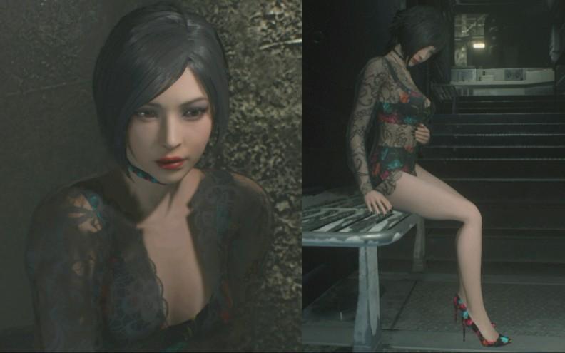 重�9�>[�>�z�K����_《生化危机2重制版》蕾丝紧身裙艾达王剧情01_哔哩哔哩(゜-゜