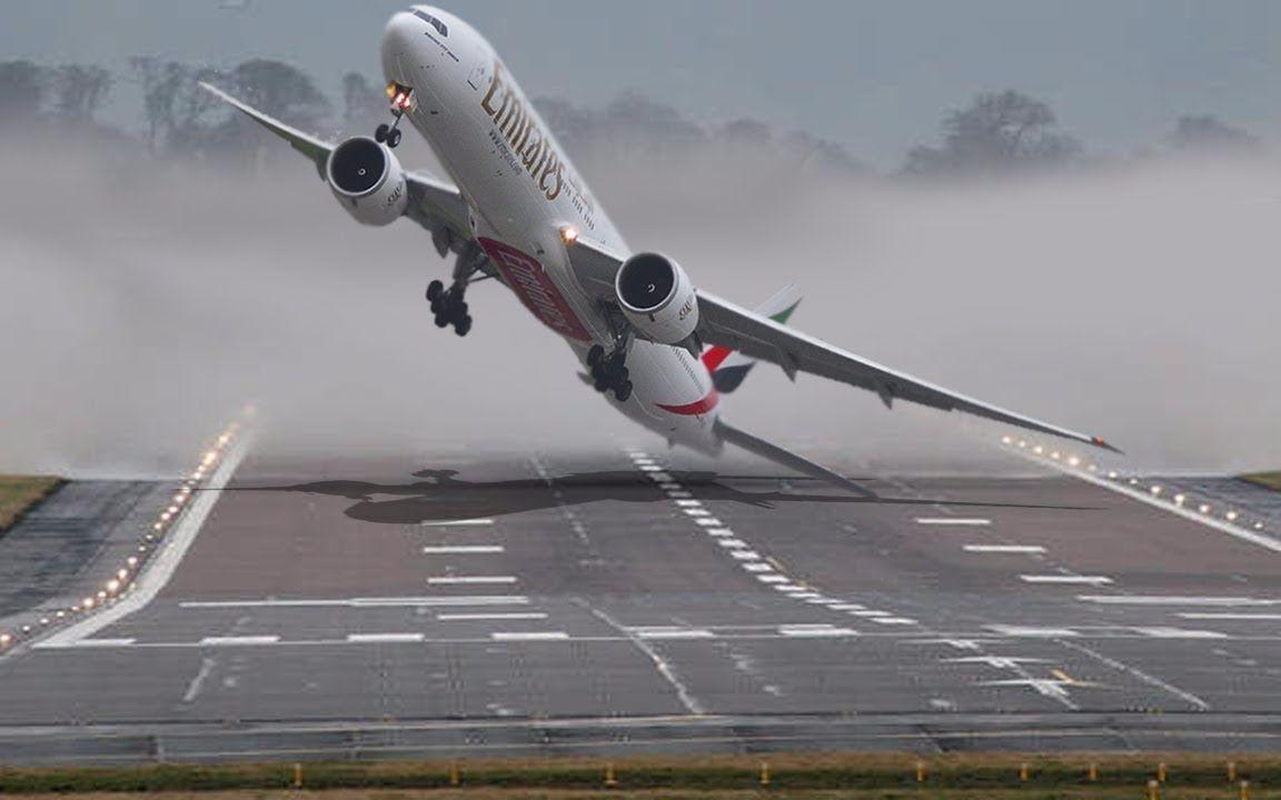 硬着陆软着陆_【侧风着陆/风暴硬着陆】波音与空客a380747