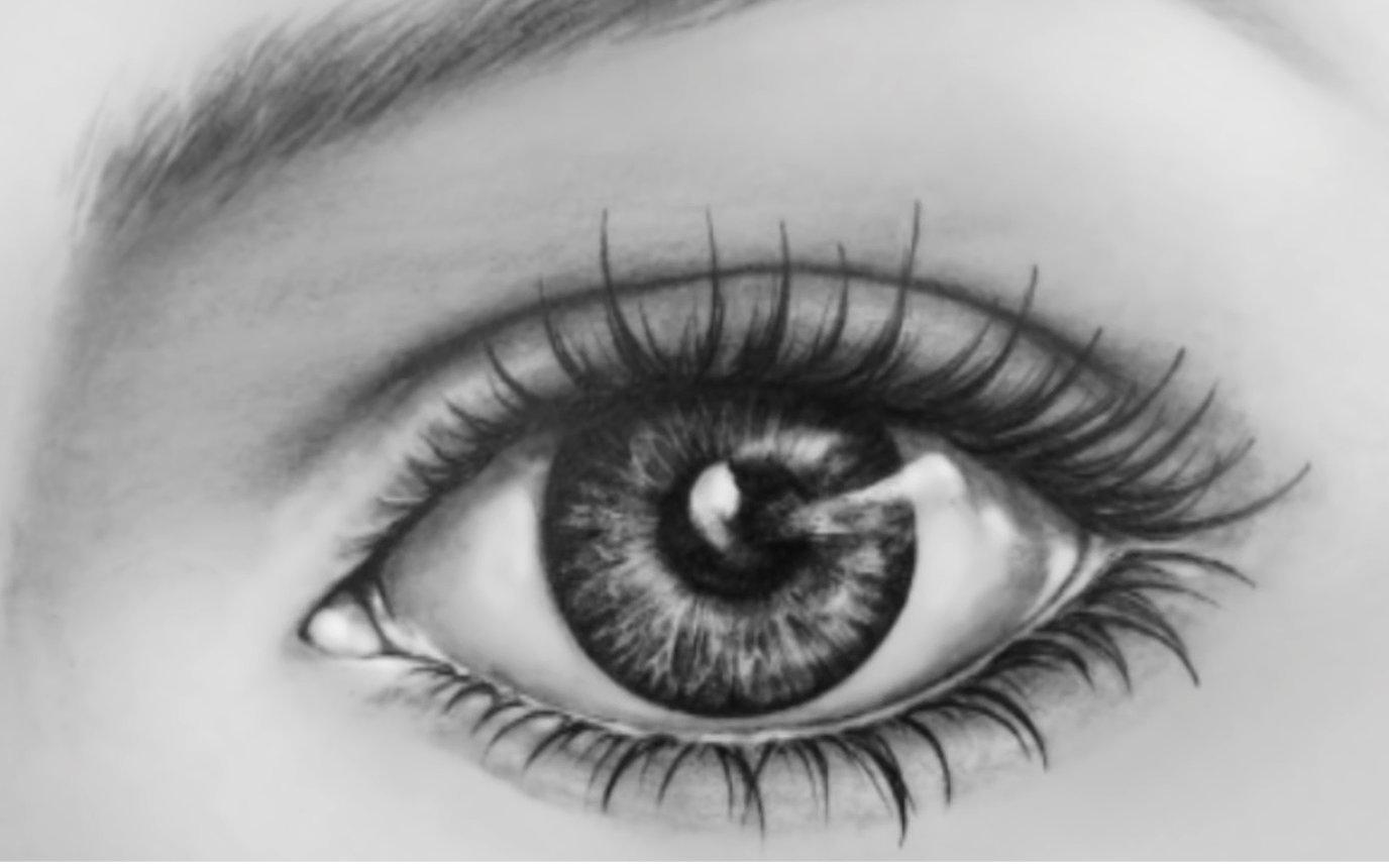 逼真素描画_【素描】如何用铅笔画一个逼真的眼睛【TankedStudio】_哔哩哔哩 ...