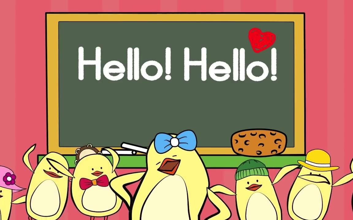 Hello Song for Kids - Music for Children - The Singing