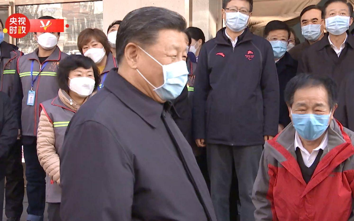 习近平:非常时期不握手了,但咱们一定能克服疫情!