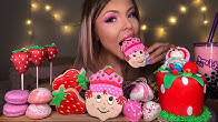 【hunnibee】草莓酥饼,巧克力草莓,摩奇冰淇淋,泡茶木桶(2019年9月21日5时45分)