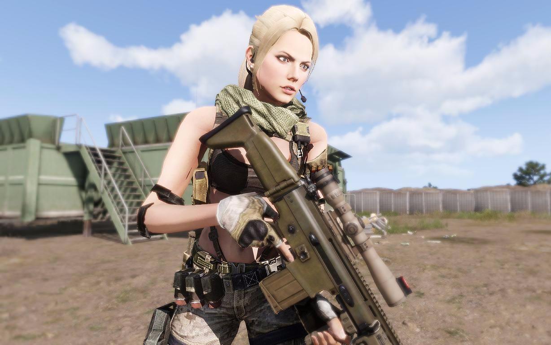 武装突袭3 Leona女性人物模组 V1.05 版本演示_哔哩哔哩 (゜-゜)つロ 干杯~-bilibili