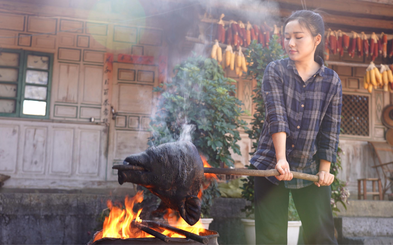 羊吃猪奶视频_烧个猪头,做一道云南过年菜:萝卜干猪头肉_哔哩哔哩 (゜-゜)つ ...