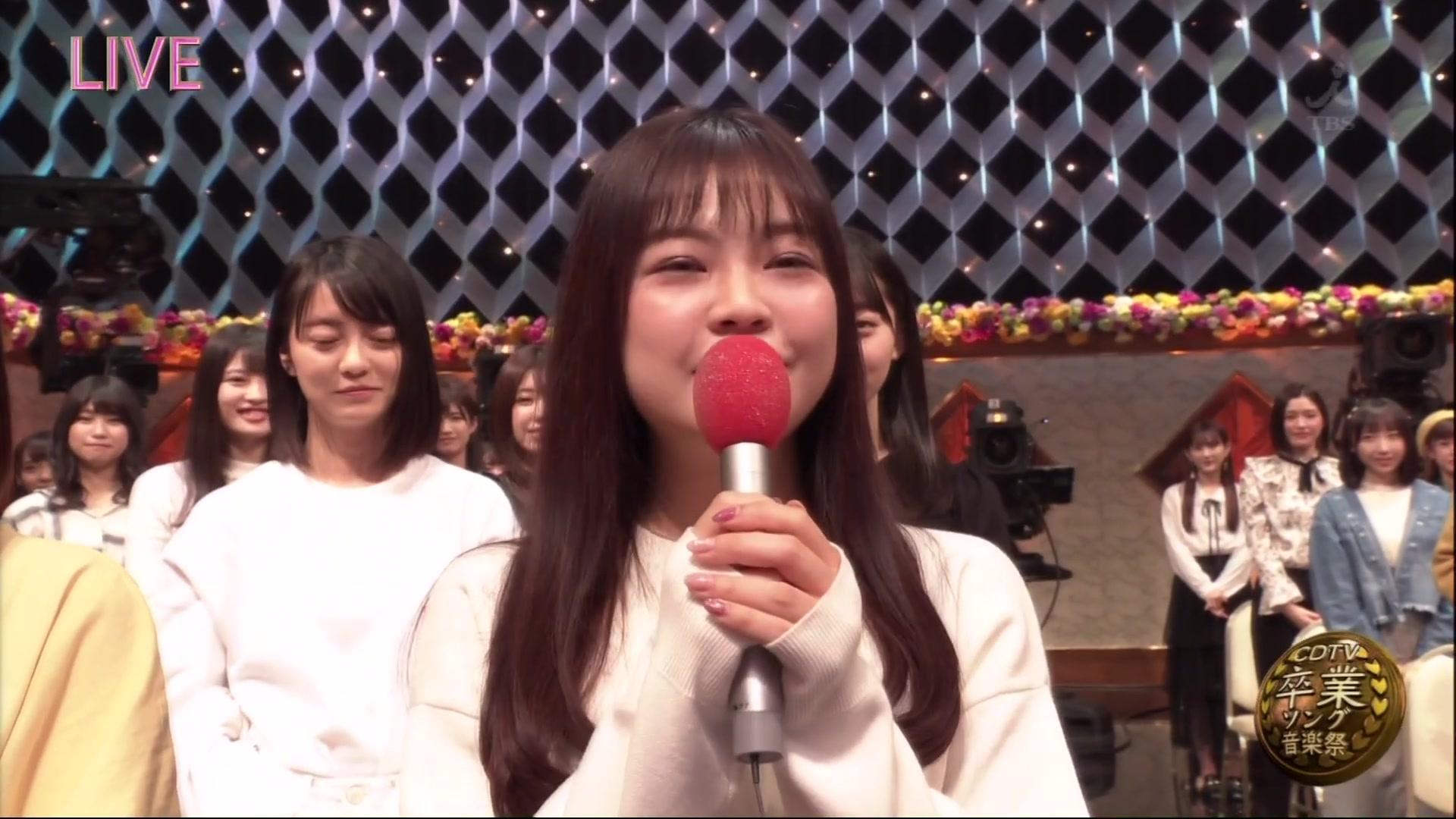 【AKB48】「トーク」&「恋するフォーチュンクッキー」&「ジワるdays」@CDTVスペシャル!卒業ソング音楽祭