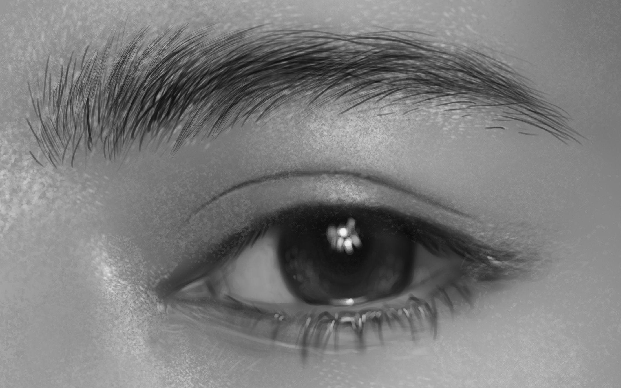 【新手必看】示范-保姆级厚涂眼睛绘画教程!超详细!超实用!