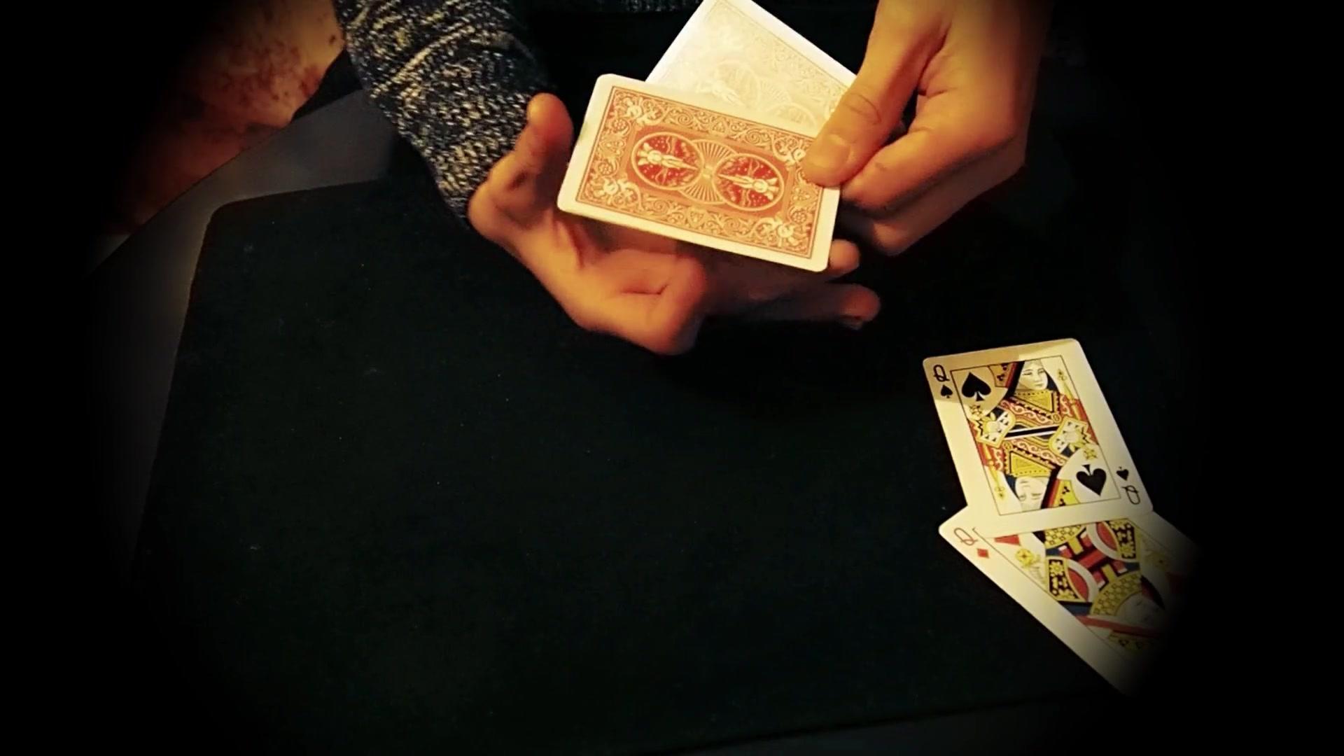 刘谦扑克牌魔术揭秘_纸牌硬币魔术教学-