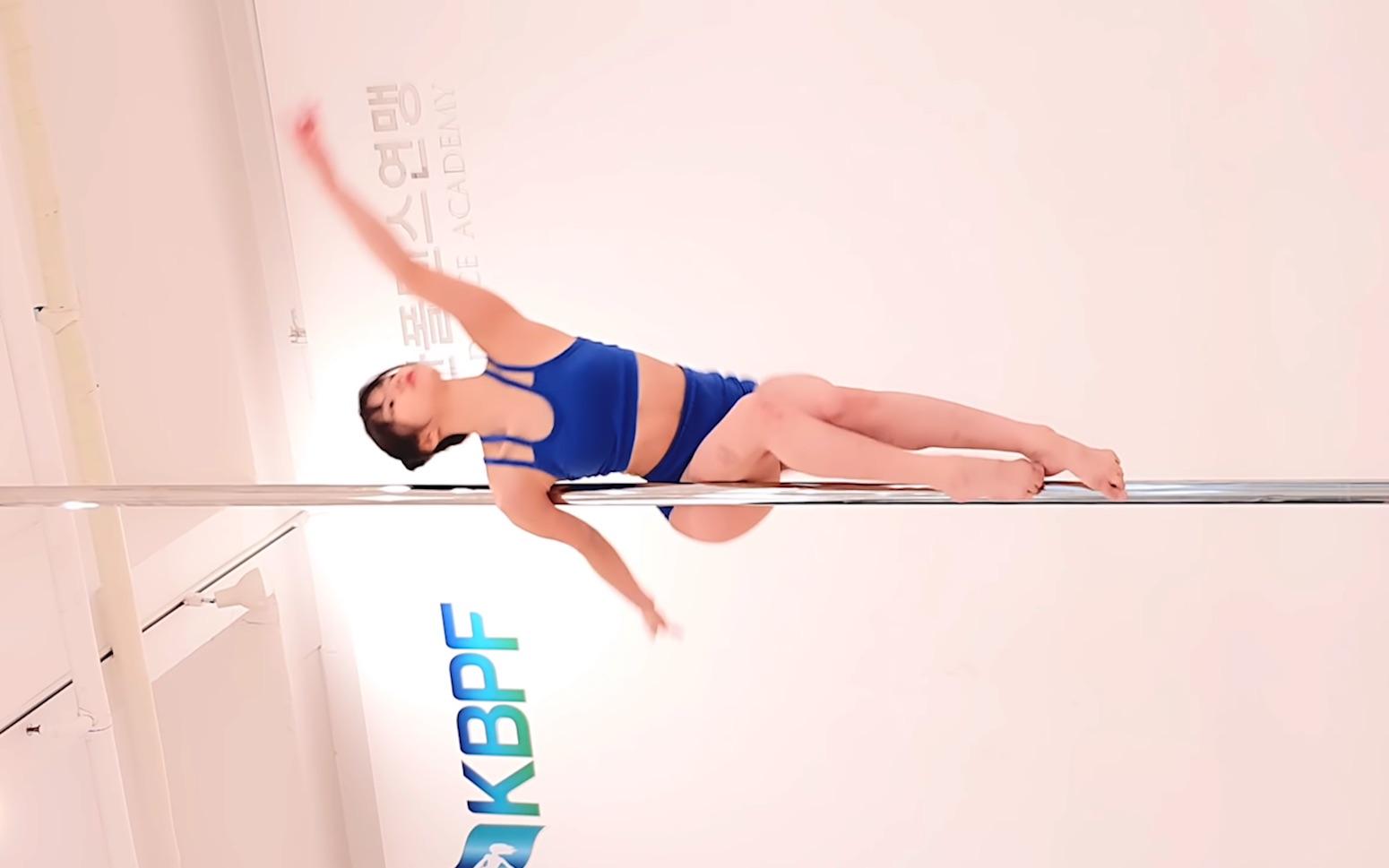 韓國小姐姐的鋼管舞表演