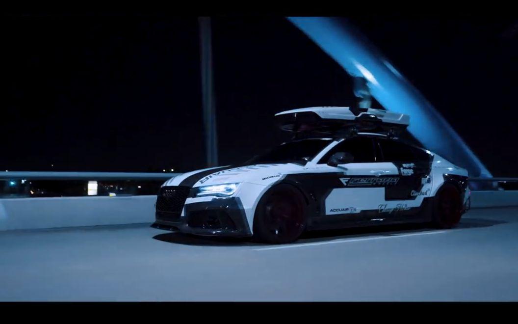 西装暴徒:audi奥迪 Rs7 (改装) 汽车 科技 Bilibili 哔哩哔哩