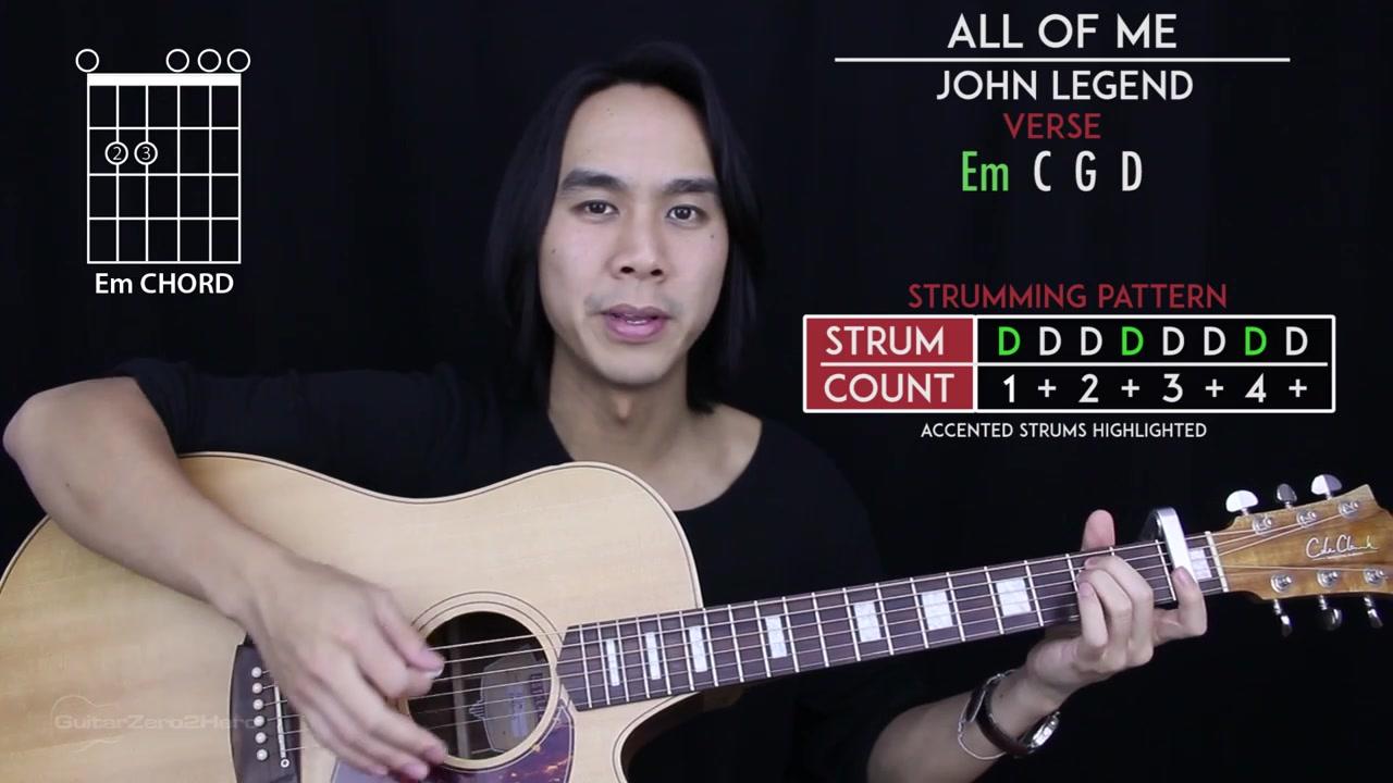 All of mebilibili all of me guitar tutorial john legend guitar lesson baditri Image collections