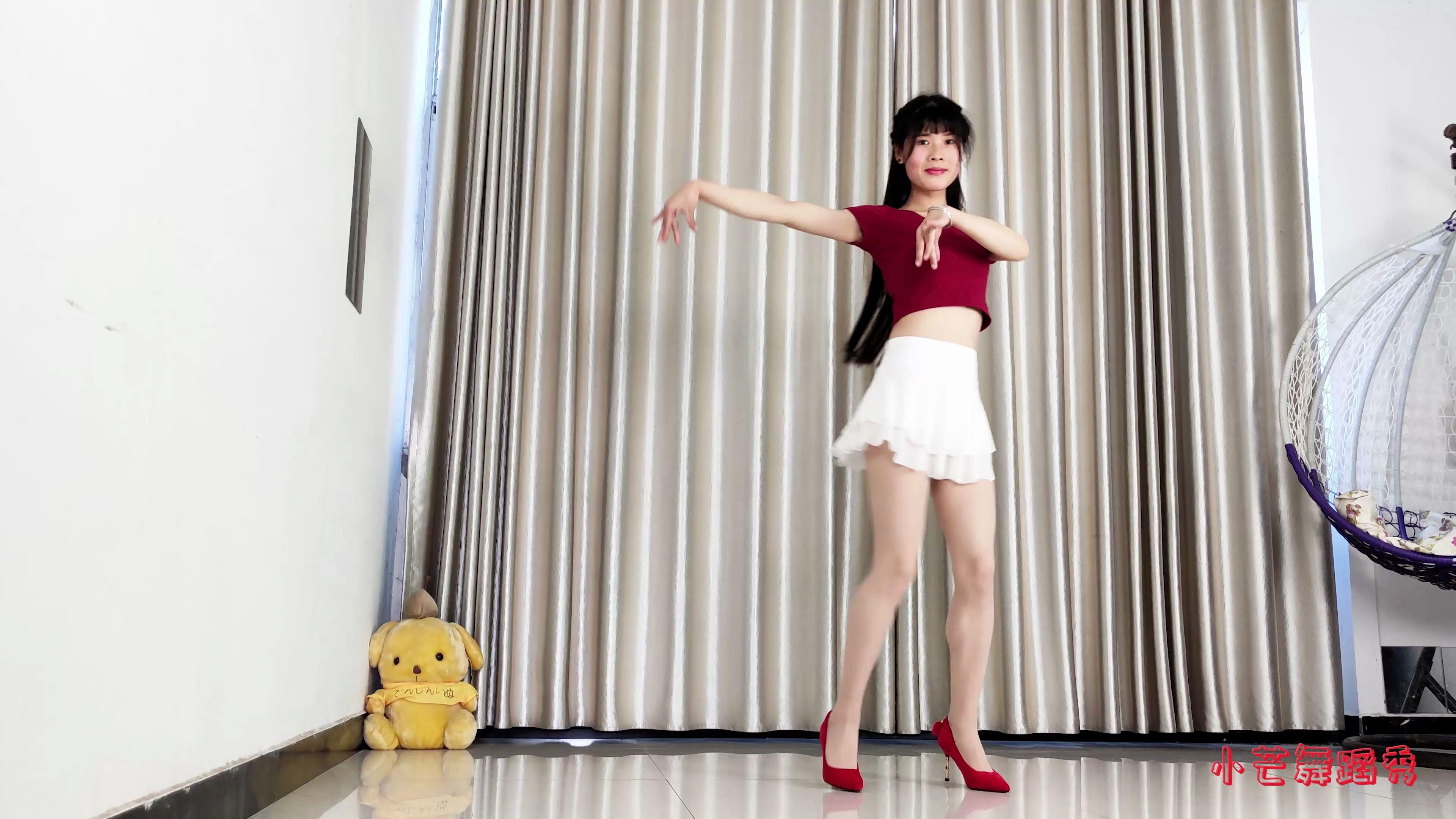 爱投罗网舞蹈教学_小芒舞蹈【糊涂的蝴蝶】_哔哩哔哩 (゜-゜)つロ 干杯~-bilibili