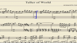 【钢琴乐谱】Teller of World