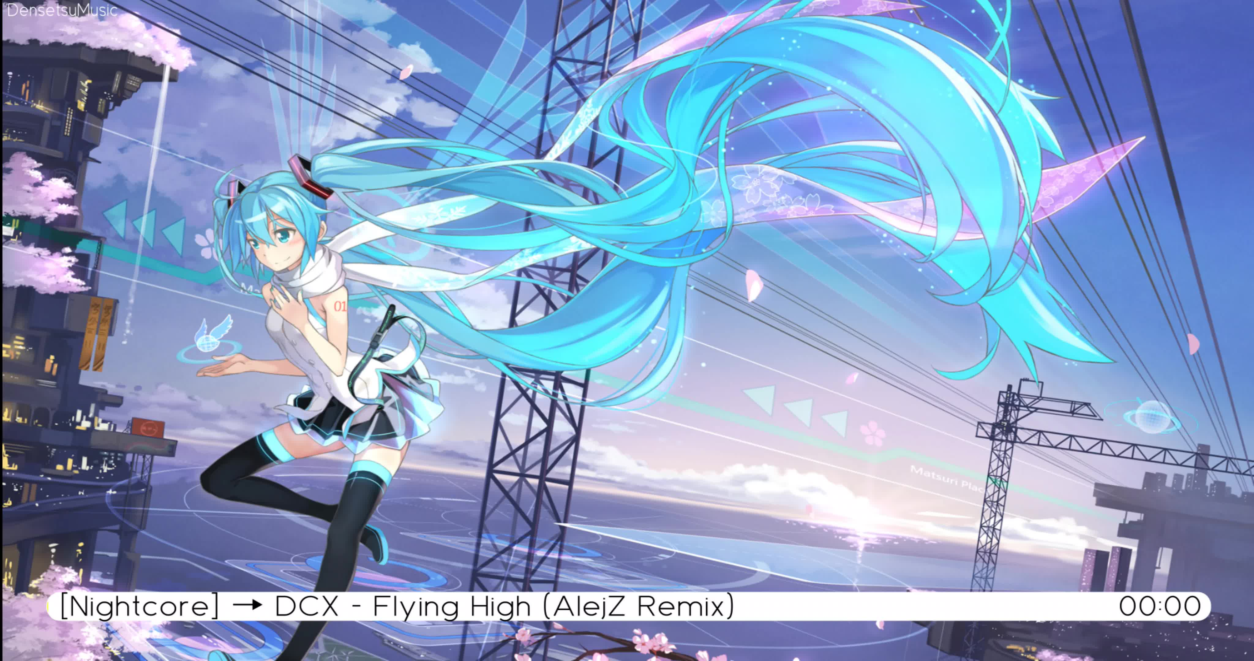 [Nightcore] → DCX - Flying High (AlejZ Remix) [歌词]_哔哩哔哩 (゜-゜)つロ 干杯~-bilibili
